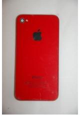 Крышка (панель) для Iphone 4. Красный цвет