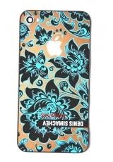 Крышка Iphone 4s Simachev. Голубой цвет