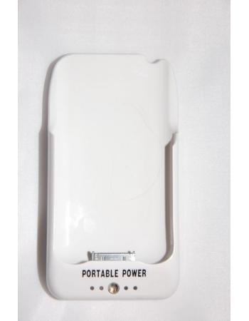 Чехол-аккумулятор Iphone 3g/3gs 2000 Mah. Белый цвет