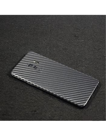 Карбоновая наклейка Samsung Galaxy S9. Черный цвет