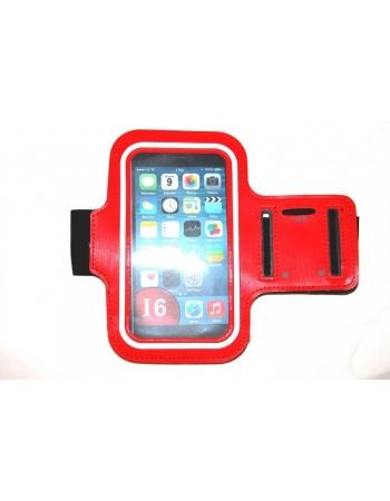 """Спортивный чехол для Iphone 6 PLUS (5.5""""). Красный цвет"""