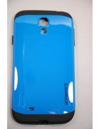 Чехол Samsung Galaxy S4 SLIM ARMOR SPIGEN. Голубой цвет