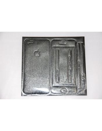 Виниловая наклейка Iphone 5, полный комплект. Черный цвет