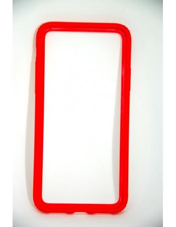 Чехол бампер для iphone X Baseus. Красный цвет