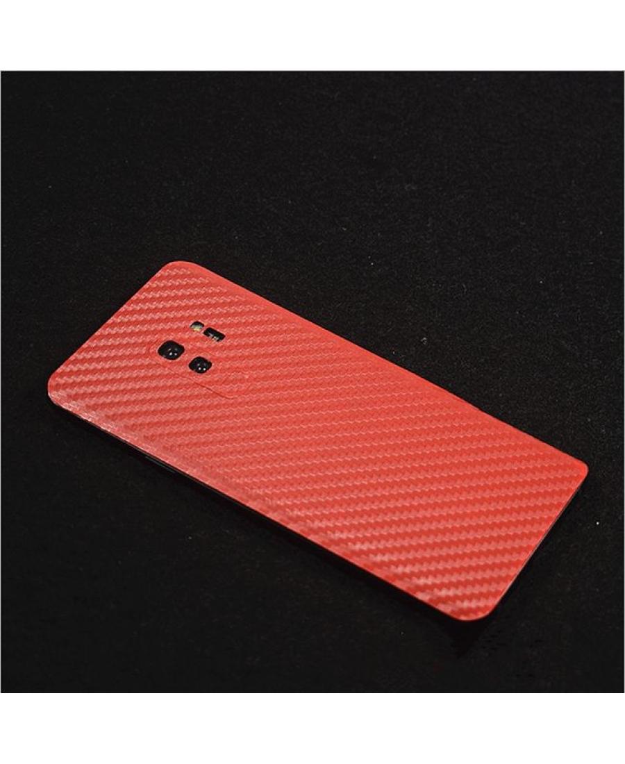 Виниловая наклейка Samsung Galaxy S9. Красный цвет
