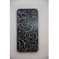 Крышка (панель) для Iphone 4. Металл, черный цвет