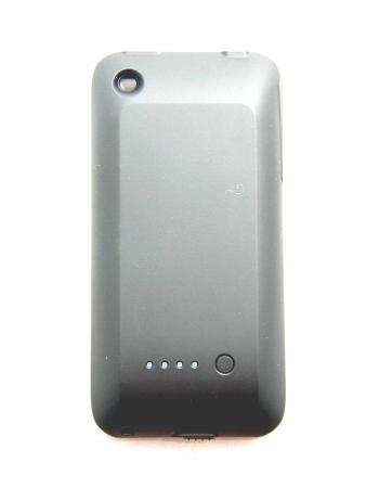 Чехол-аккумулятор для Iphone 3G/3Gs. Черный цвет, 1500 Mah