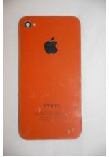 Крышка (панель) для Iphone 4. Оранжевый цвет