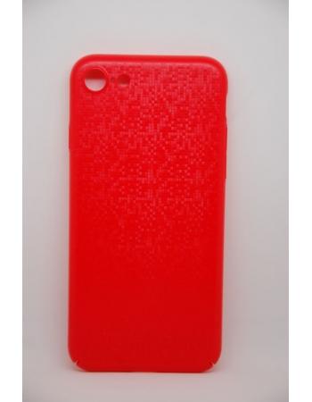 Чехол-накладка Baseus Plaid Case для iPhone 7. Красный цвет