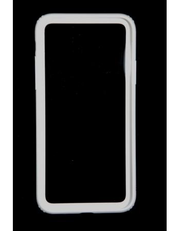 Чехол бампер для iphone X Baseus. Белый цвет