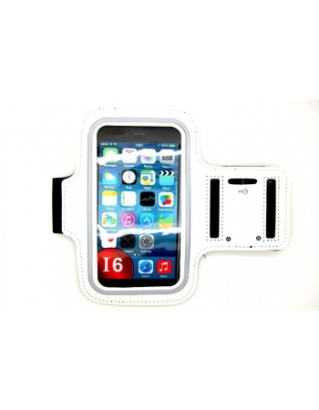 """Спортивный чехол для Iphone 6 PLUS (5.5""""). Белый цвет"""