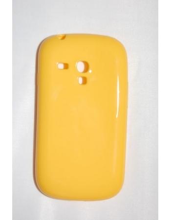 Чехол Samsung Galaxy S3 mini. Желтый цвет