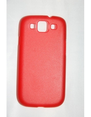 Ультратонкий чехол 0.6 мм Samsung Galaxy S3 SIII i9300. Красный цвет