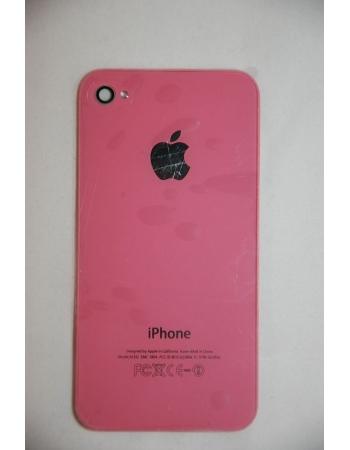 Крышка (панель) для Iphone 4. Розовый цвет