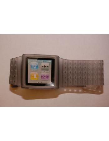 Браслет-часы для Ipod Nano 6. Серый цвет