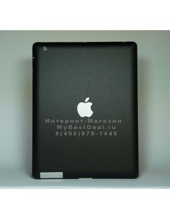 Карбоновая наклейка ipad 2. Черный матовый цвет