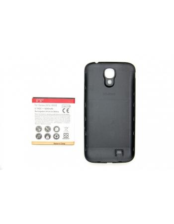 Усиленный аккумулятор Samsung Galaxy S4, 6200 Mah + крышка. Черный цвет