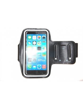 """Спортивный чехол для Iphone 6 PLUS (5.5""""). Черный цвет"""