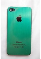 Панелька Iphone 4. Металл. Зеленый цвет
