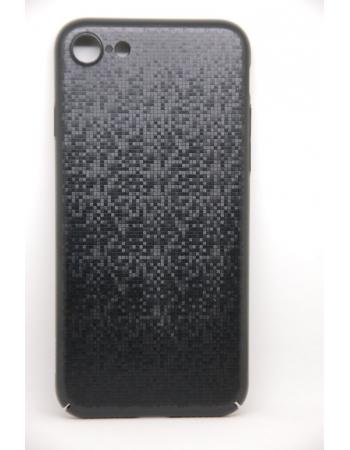 Чехол-накладка Baseus Plaid Case для iPhone 7. Черный цвет