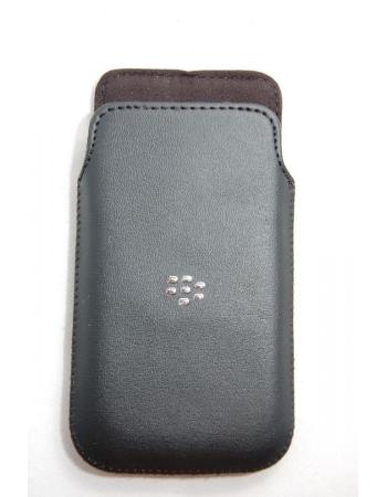 Кожаный чехол Blackberry Z10. OEM. Черный цвет