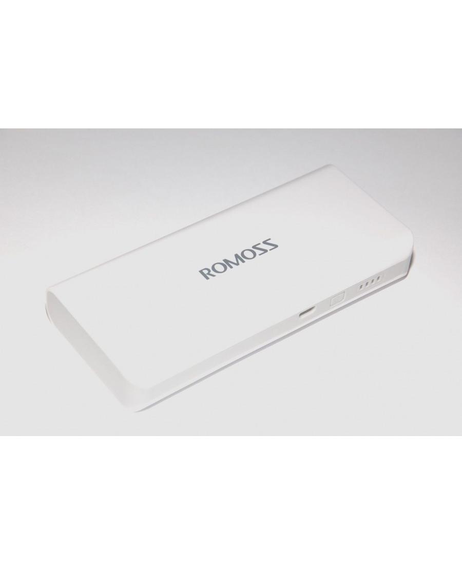 Акумулятор PowerBank Romoss 10400 Mah Белый цвет