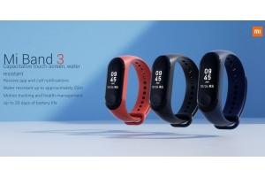Новый фитнес браслет Xiaomi Mi Band 3 купить в Москве